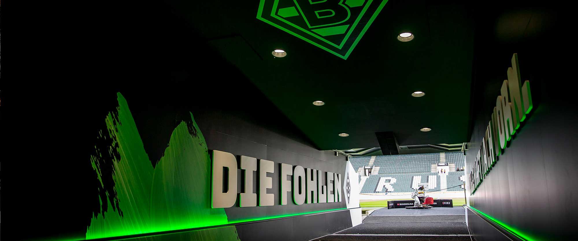 Stadionführung Mönchengladbach