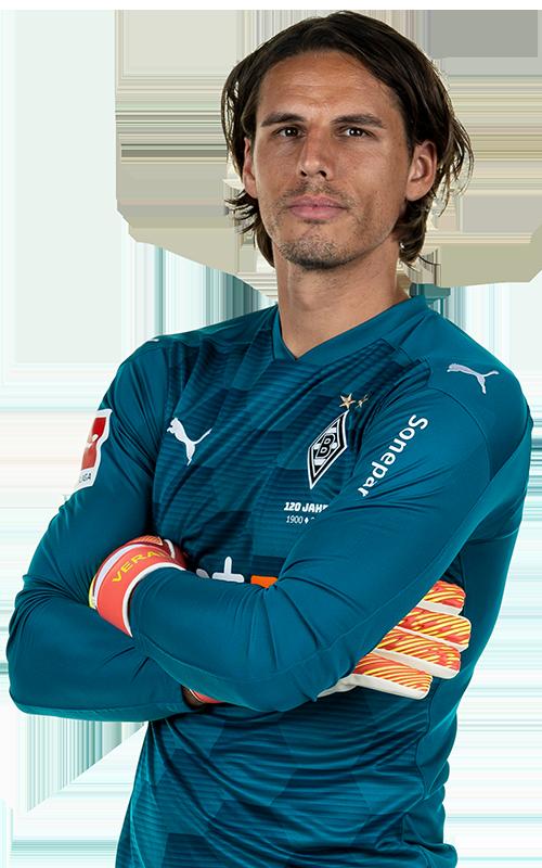 Yann Sommer Borussia Monchengladbach